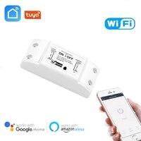 Tuya     interrupteur intelligent sans fil wi-fi  Application  telecommande  minuterie 10A  Modules de bricolage  Application Smart Life  avec Alexa Google Home IFTTT