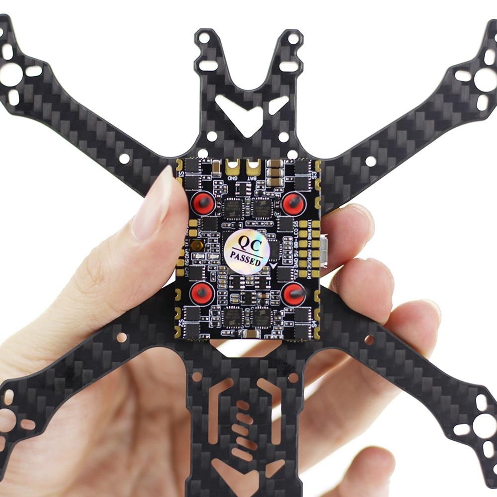 HGLRC Zeus35 AIO 3-6S F4 Flight control board 35A BLS 1in4 ESC 20x20 For MINI RC FPV Drone Quadcopter Airplanes accessories enlarge