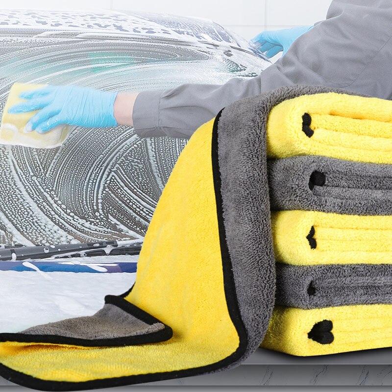 Cuidados com o carro polimento lavagem toalhas pano de limpeza para toyota corolla rav4 camry prado avensis yaris hilux prius land cruiser