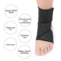 ankle sports protective ankle joint compression strap recovery sprain pain relief for chronic acute ankle injury rehabilitation