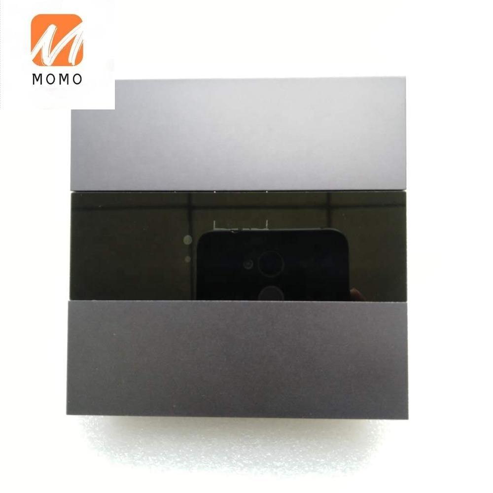 ترموستات لوحة معدنية تعمل باللمس لأتمتة المنازل فندق KNX الذكية