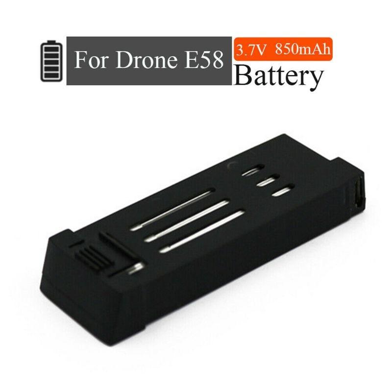 3 шт. Обновление версии 3,7 V 850mAh литий-полимерный Батарея для Eachine E58 L800 JY019 S168 беспилотник X Pro Дрон Квадрокоптер с дистанционным управлением
