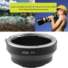 Adapter do obiektywu Canon EOS EF EF-S FX uchwyt do obiektywu Fujifilm x-Pro1 ręczny uniwersalny pierścień adapter do obiektywu