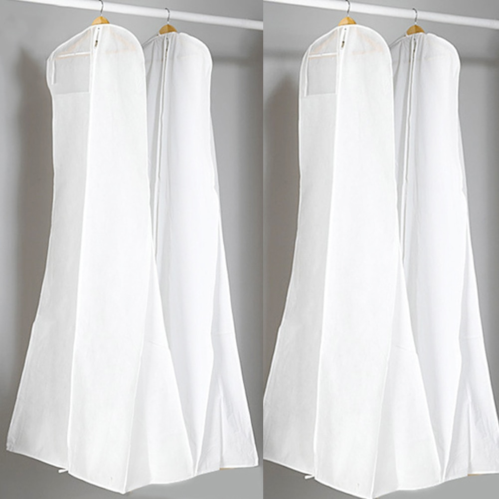 Dress Protective Cover Reusable Dustproof Wedding Cocktail Banquet Dress Storage Bag Protective Cover placemats for dress