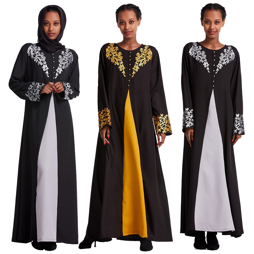 فستان كوكتيل ماكسي للنساء المسلمات ، عباية دبي ، قفطان إسلامي ، جلباب ، فستان عربي ، قفطان تركي ، رمضان