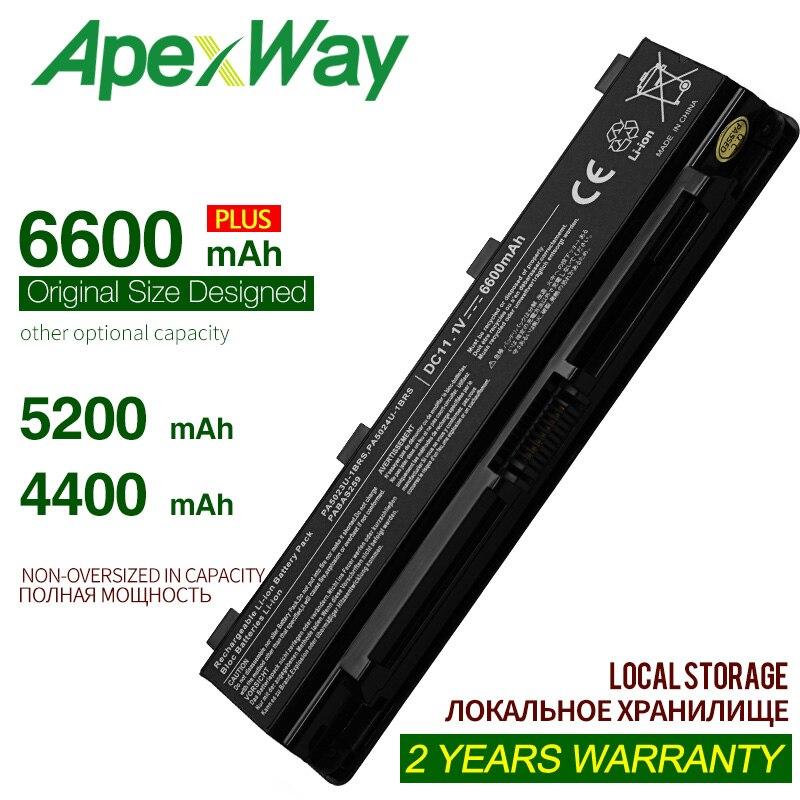 ApexWay bateria pa5024u-1brs bateria pa5024u-1brs pa5024u-1brs para toshiba satellite l850 satélite S870 serie satélite S845D
