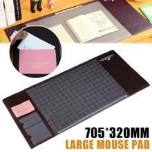New 705*320mm Multifunctional PVC Waterprof Desk Mat Mouse Pad Table Desk Pad
