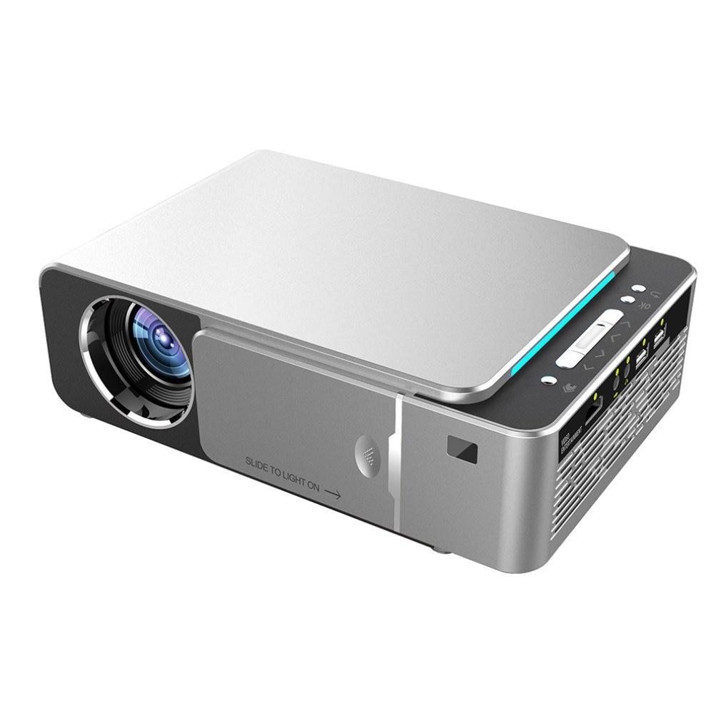T6 جهاز عرض (بروجكتور) ليد HD 3500 لومينز المحمولة HDMI USB دعم 4K 1080p المسرح المنزلي سينما Proyector متعاطي المخدرات