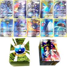 150pcs/Box  Pokemon Tag Team EX GX Trainer Energy Cards TAKARA TOMY Game Playing Card Battle Trading