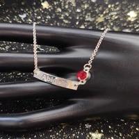 personality name bracelet custom letter nameplate bracelets stainless steel zodiac stone pendant fashion jewelry gifts for women