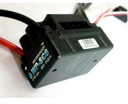 Hobbywing EZRUN WP SC8 Waterdichte 120A Bürstenlosen ESC Speed Controller Lkw