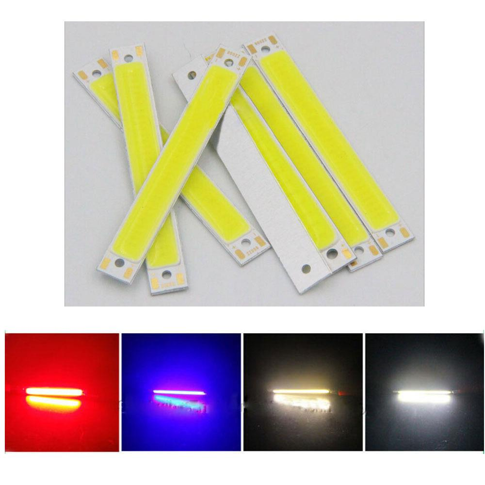 LED Panel Strip COB Chip Light LED Chip Eco-Friendly High Brightness 60x8mm 3W/1W 3V DIY Floor Lights Spotlight Source