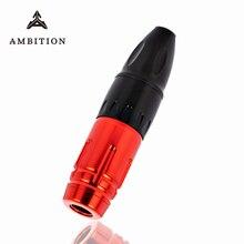 Machine rotative de haute qualité de stylo de tatouage toute la doublure plus ronde et lombrage moteur sans brosse puissant basse vibration 9v 10000 tr/min