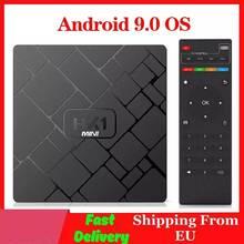 4K Smart TV BOX Android 9.0 HK1 MINI lecteur multimédia Rockchip RK3229 Quadcore 2GB 16GB H.265 Sep boîte supérieure HK1MINI TVBOX