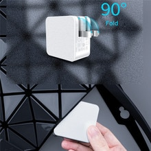 65W PD3.0 & GaN chargeur de USB C adaptateur de charge rapide pour Gopro caméra daction ordinateurs portables/Drones/reflex tablettes de téléphone portable