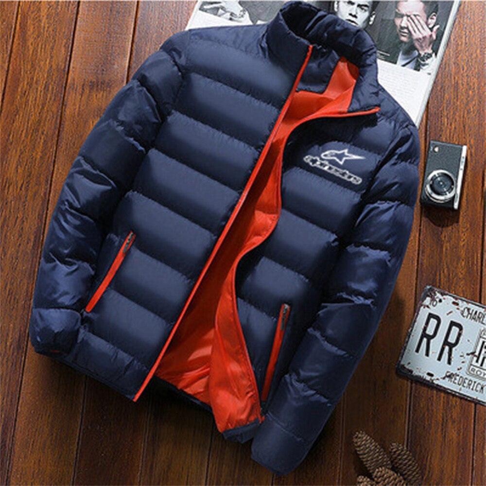 Новинка Осень-зима 2021, куртка, Мужская модная повседневная мужская куртка с воротником-стойкой, Женская куртка, Мужская Зимняя парка
