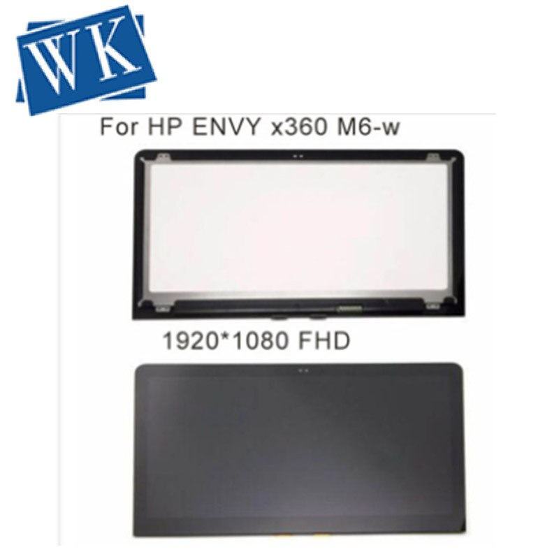 15.6 Para HP ENVY x360 M6-W104DX M6-W101DX M6-W105DX M6-W015DX M6-W014DX LCD Screen Display + Toque Digitalizar 1920*1080