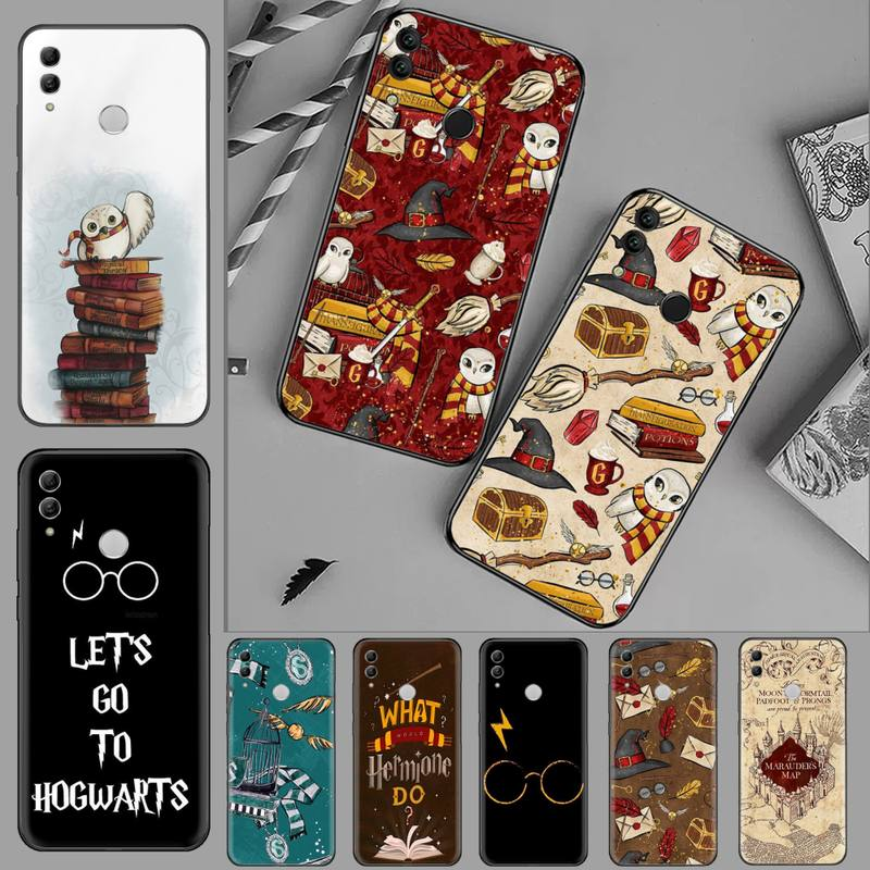 Harries Potter Collection Cartoon Phone Case For Huawei Honor 7C 7A 8X 8A 9 10 10i Lite 20 NOVA 3i 3e