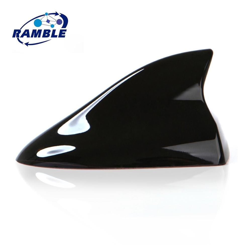 Antena de aleta de coche RAMBLE Shark, accesorios aéreos de techo, cubierta de Radio, señal de Radio, aleta de antena de coche, aleta para KIA Picanto