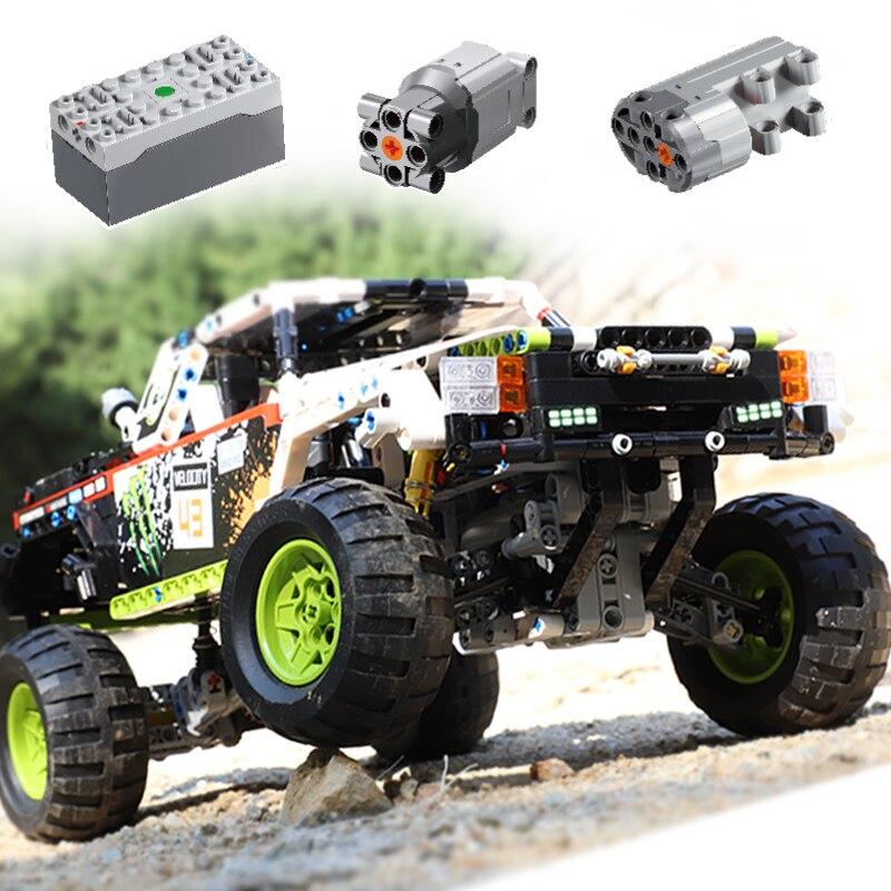 1090 stücke Technik Off-Road Fahrzeug Fernbedienung Bausteine RC Stadt Racing Auto Bricks Set DIY Spielzeug Auto kinder Kinder Geschenke