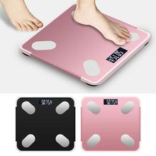 Bluetooth Body Fat Scale BMI Scale Smart Electronic Scales LED Digital Bathroom Weight Scale Bala