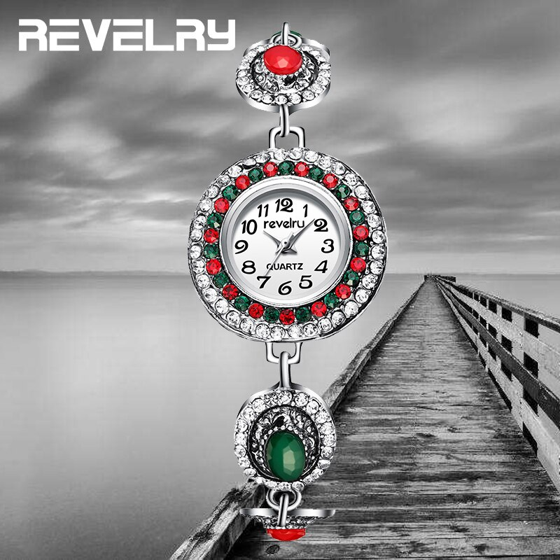 Reloj de pulsera de plata de lujo de marca superior para mujer, pulsera clásica de moda, reloj femenino, reloj femenino 2019 nuevo