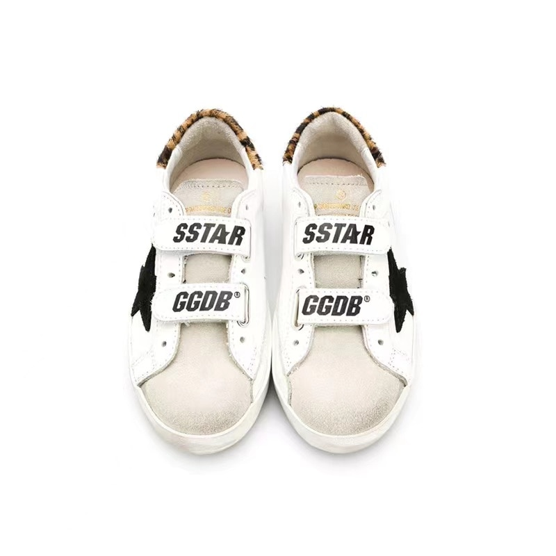 2021 Children's Spring and Summer New Old Small Dirty Shoes for Boys and Girls Velcro Horsehair Tail Kids Casual Shoes CS203 enlarge