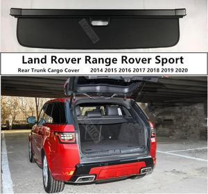 Rear Trunk Cargo Cover For LAND ROVER RANGE ROVER SPORT 2014 15 16 17 18 2019 2020 High Qualit Security Shield Auto Accessories