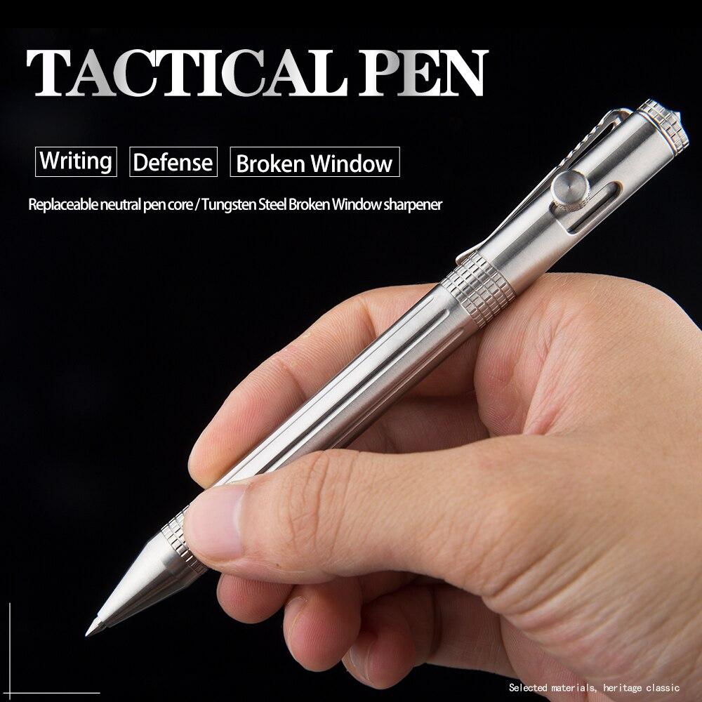 Portable defense personal stainless steel tactical pen multi-function broken window lifesaving tool self-defense pen недорого