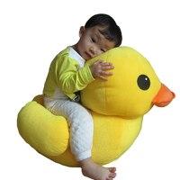 Симпатичные 20 50 68 см плюшевые желтый фигурка утки кукла серии большая модель Утки Куклы каваи вещи подушки на диван-кровать для дома орнамен...