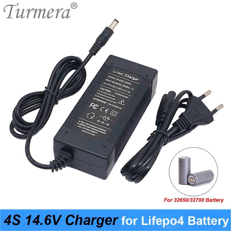 14,6 V 3A LiFePO4 зарядное устройство 4 серии 12V 3A Lifepo4 Батарея зарядное устройство 14,4 V Батарея умное устройство для зарядки для 4S 32650 32700 LiFePO4 Батарея