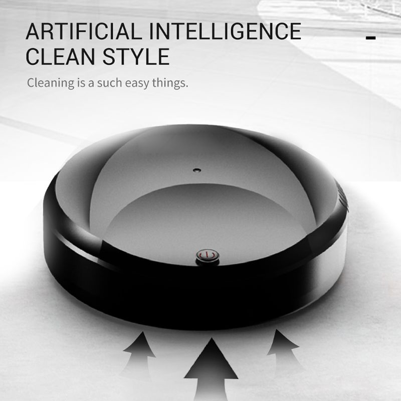 Automatic Smart Sweeping Robot Vacuum Cleaner Floor Dirt Home USB Rechargeable Cleaning Machine 3 in 1 robot vacuum cleaner usb rechargeable smart sweeping robot automatic sweeper strong suction home floor cleaning machine