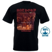Bathory Hammerheart 1990 Album Cover T Shirt 032202