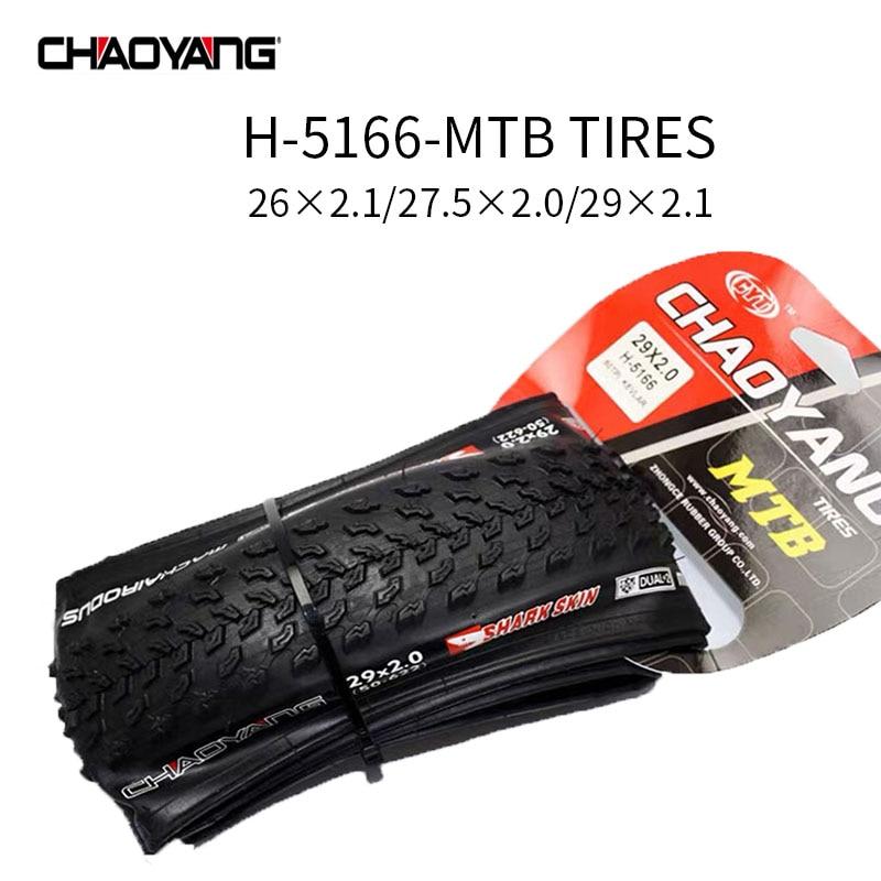 CHAOYANG H-5166 Shark Skin Machairodus 26×2.1 27.5×2.0 29×2.0 26 27.5 29 inch MTB Bike Tires