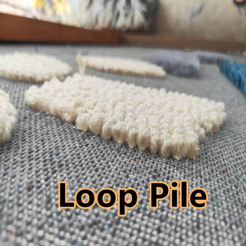 Electric Carpet Tufting Gun Carpet Weaving Flocking Machine Loop Pile Cut Pile Knitting Machines Industrial Tapestry Mat enlarge