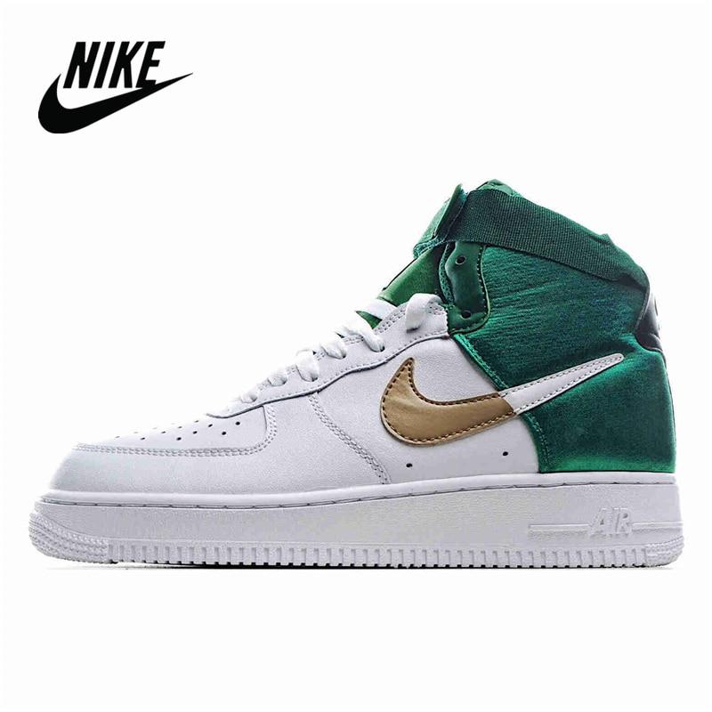 Zapatillas deportivas NIKE AIR FORCE 1 HIGH 07 LV8 1 Celts verde para mujer talla 36-40 BQ4591 100