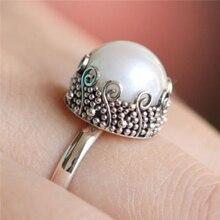 2019 Korean Fashion Imitation Pearl Rings For Women Gift  Color Jewelry Elegant Wedding Engagement Rings Bijoux Z5Q933