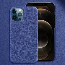 Genuine Cow Leather Phone Case For Apple Iphone 13 Pro Max 12pro 12 Mini 11 Pro Max X Xr Xs Max 6 5s