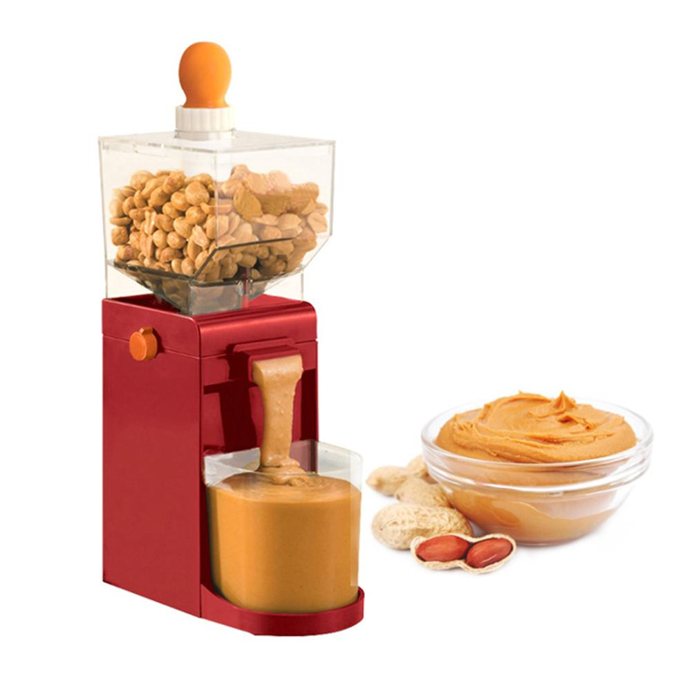 500ML Electric Grinder Peanut Deep-fried Peanut Butter Maker Cashews Hazelnuts Coffee Grinding Machine Peanut Butter Grinder