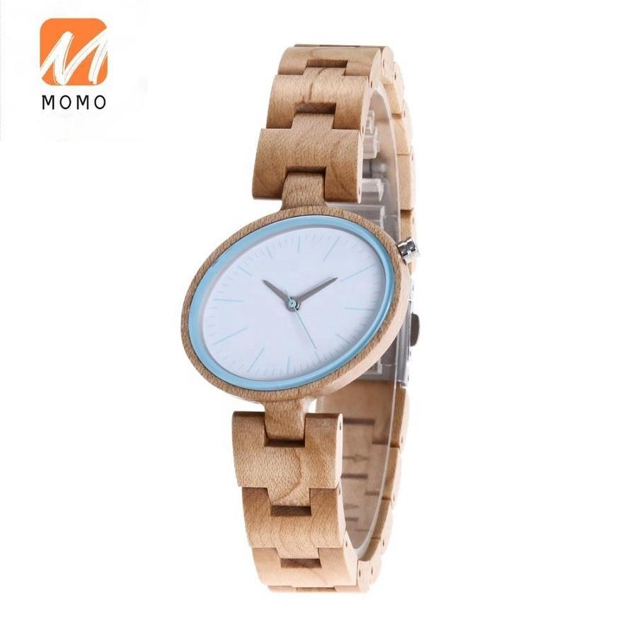 Роскошные наручные кварцевые часы с логотипом на заказ 2035 для женщин