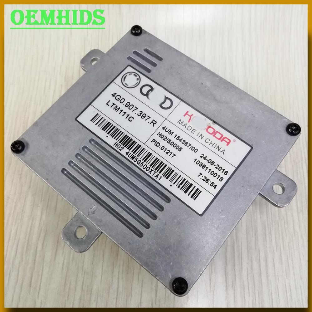 4G0907397R Original oemhids nuevo genuino KE-BODA faros de Led Drl de la unidad de control LightT para 4G0! 907.397.R H02-S0005