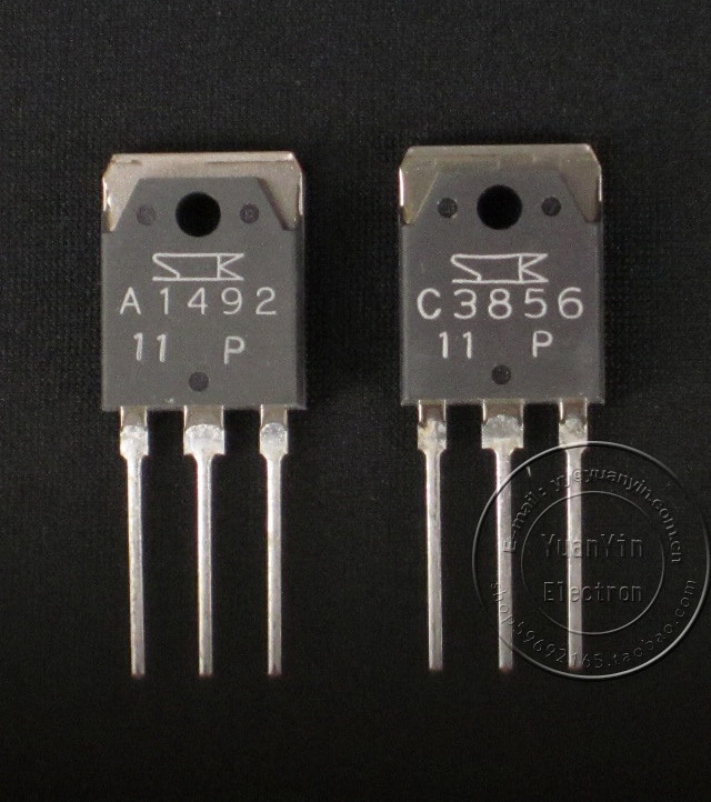 2pairs High power diode triode Sanken 2SA1492 2SC3856 TO-3P Audio Power Amplifier tube New HIFI amplifier SK A1492 C3856 new smsl sa 36a pro 20w 2 hifi tpa3118d2 digital audio power amplifier free shipping