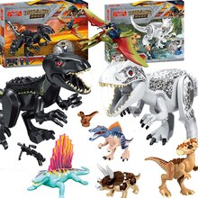 Jurassic Dinosaurus Bouwstenen Cijfers Bricks Tyrannosaurus Rex Indominus Model Speelgoed
