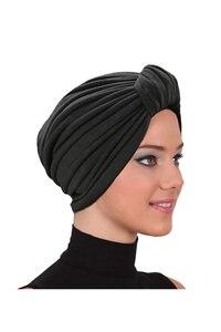 Soft Knob Bonnet Hijab Women