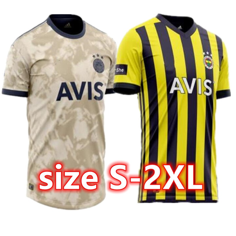 Fenerbahce jerseys 21 CAMISETAS DE FÚTBOL home Mesut Özil Perotti Ozan Tufan Samatta Camiseta Turk