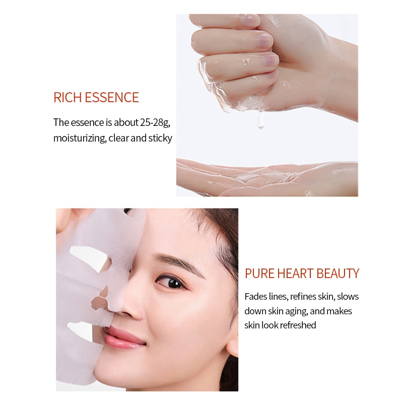 3 pieces Propolis Beautifying Moisturizing Invisible Mask Intensive Moisturizing Oil Control Whitening Brighten Facial Mask