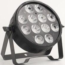 LED Flach Par 12x18W RGBWA UV 6in1 waschen licht led flach slimpar 12x12w rgbw 4in1 waschen wirkung par licht für DJ Club Party Bühne