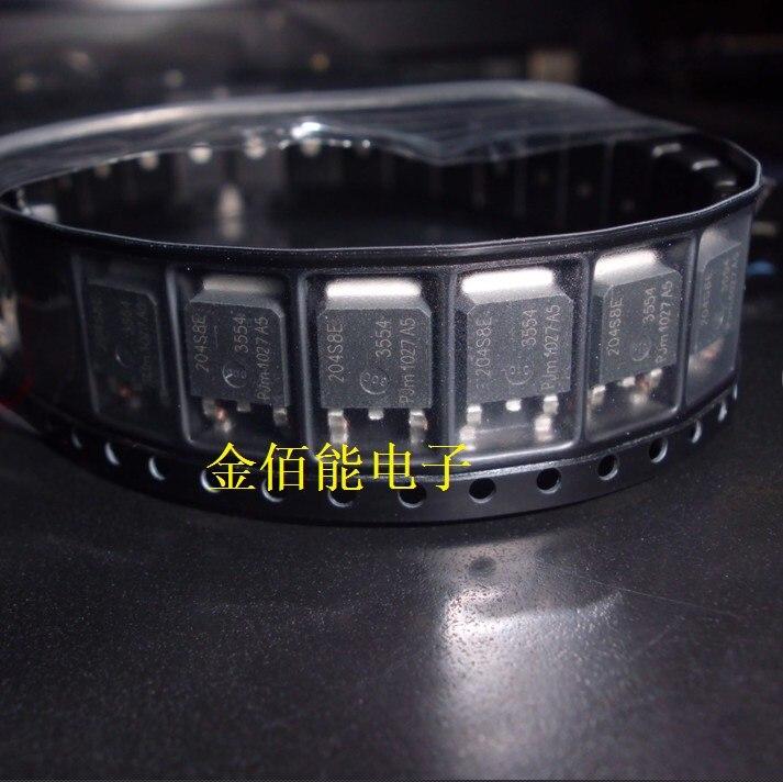 10PCS/LOT 204S8E BTA204S-800E TO-252      New orginal