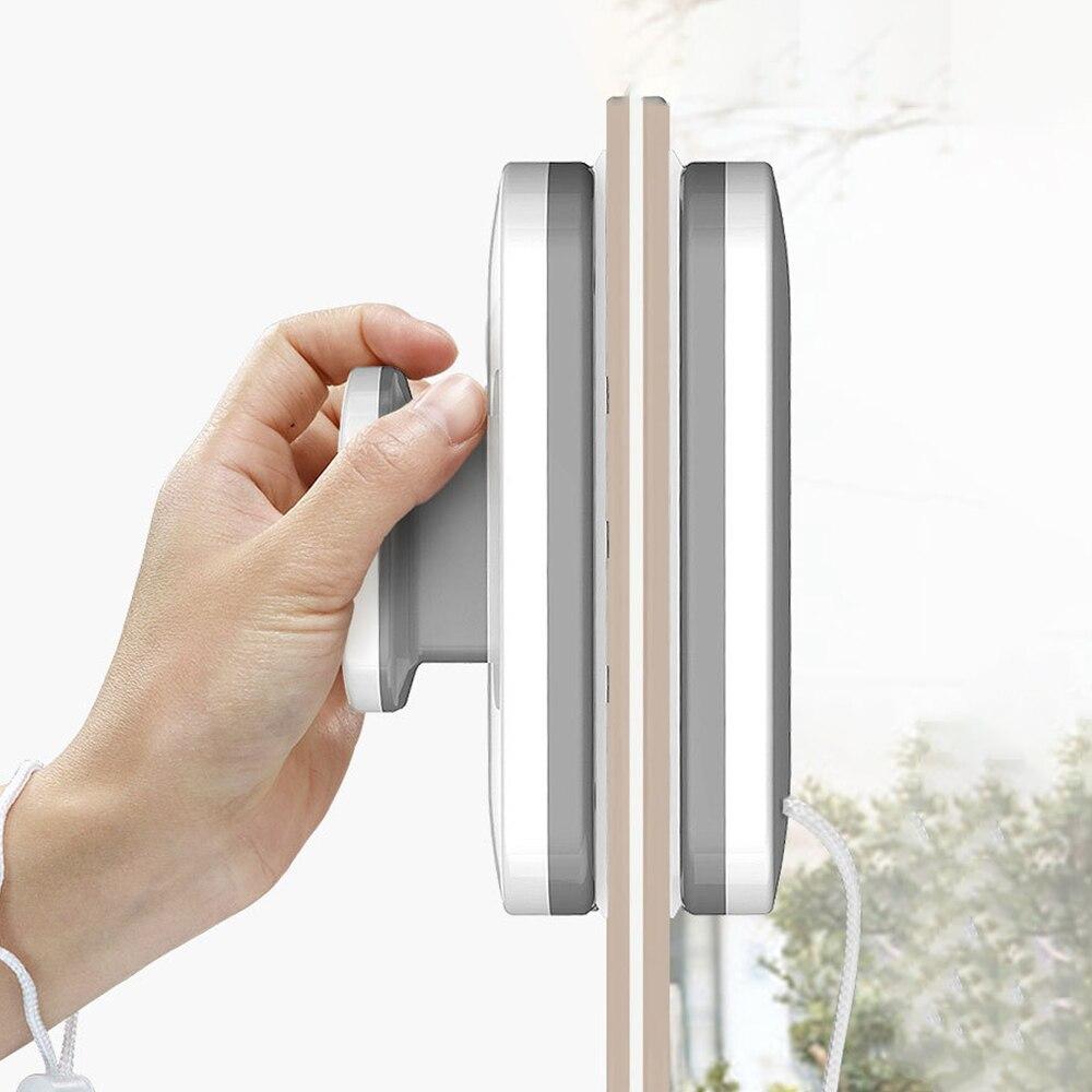 Limpador de Vidro Escova de Limpeza para Janelas de Lavagem Ferramentas de Limpeza do Agregado Highrise Janela Dupla Face Magnético Familiar