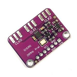 Arduino Module SI5351 Signal Generator Clock DC 3V-5V CJMCU-5351 Si5351A Si5351 I2C Clock Generator Breakout Board8KHz-160MHz
